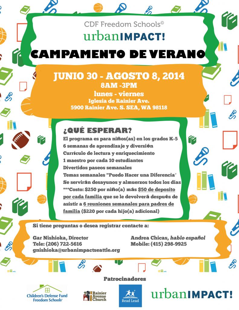SDC 2014 flyer spanish