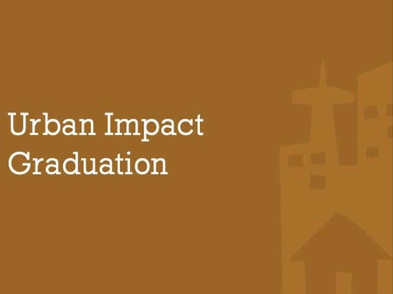 Urban Impact Graduation, 8/18/19