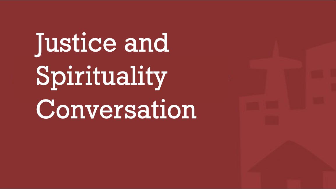 Justice And Spirituality Conversation- Lisa Sharon Harper